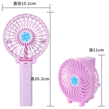 Amazon Hot Sale USB Mini Portable Desk Fan with Rechargeable Battery Powered Fan for Office Table Hand Held Fan